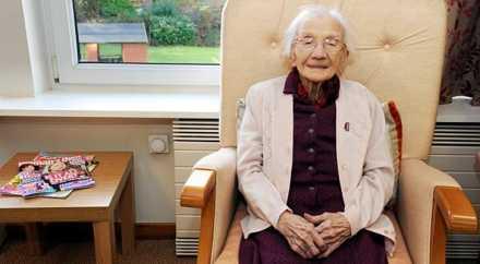 109-летняя шотландка поделилась секретом долголетия