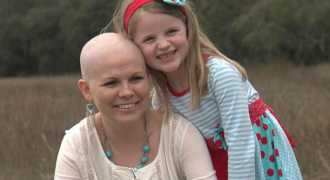 Молодая мама пообещала победить рак ради своих детей