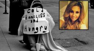 Бездомный отдал студентке последние деньги и в благодарность получит квартиру