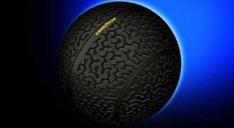 Автомобильные шины будущего станут круглыми, как шар