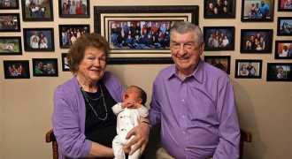 У супружеской пары из Иллинойса родился сотый внук