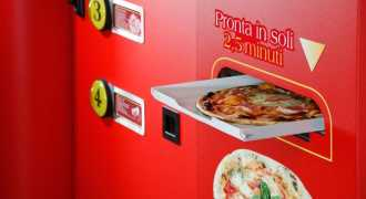 В Италии появился аппарат, изготавливающий свежую пиццу за три минуты