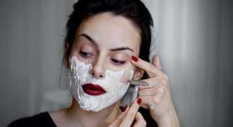 Бритьё лица - новый тренд женской косметологии