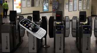 Телефон вместо жетона