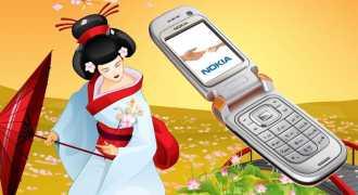 В Японию вернулась мода на телефоны-раскладушки