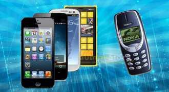 Смартфоны вытесняют обычные мобильные телефоны