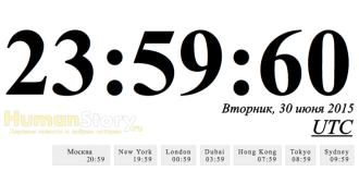Очередная високосная секунда будет добавлена в 2015 году