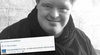 Француз с синдромом Дауна на 30-летие получил 30,000 поздравлений