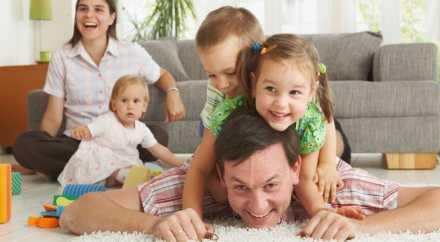 Государство поможет платить ипотеку после рождения детей