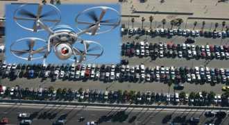 Беспилотники помогут найти место для парковки автомобиля