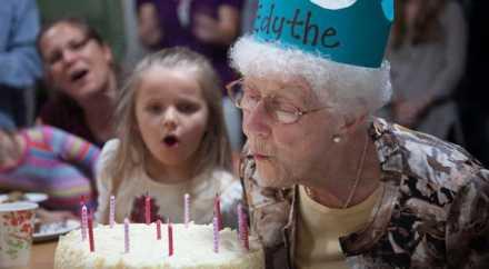 Самая пожилая пользовательница Facebook отметила 107 день рождения
