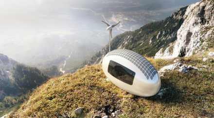 Словаки придумали мобильный экологичный дом