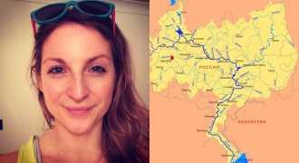 Британка в одиночку идёт на каяке 3,5 тысячи километров по Волге