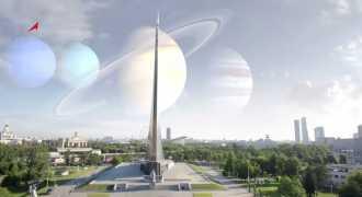 Роскосмос представил видео с Сириусом вместо Солнца и Юпитером взамен Луны