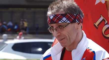 Ростовчанин на инвалидной коляске отправился в путешествие по России