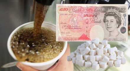 Великобритания введёт налог на сладкую газировку