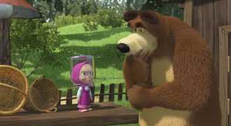 Британская Turner купила права на показ 2 сезона «Маши и медведя»