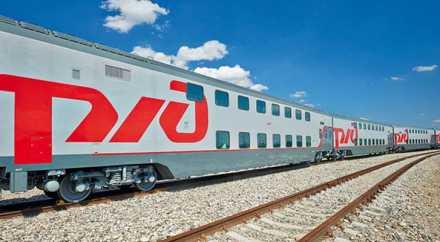 Двухэтажный поезд начал ходить между двумя российскими столицами