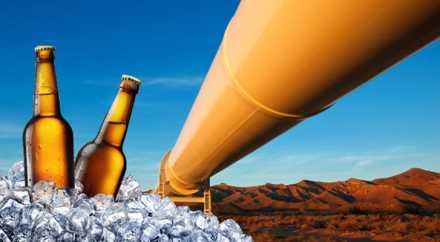 Пивовар из городка Брюгге построит первый в мире пивопровод