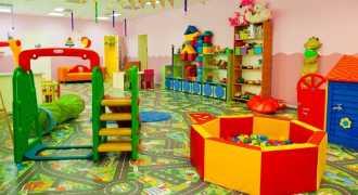 Количество мест в детсадах за год увеличилось на 343 тысячи