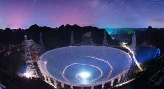 Китай ввёл в эксплуатацию крупнейший в мире радиотелескоп