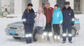 Светоотражающие валенки представили в Вологодской области
