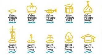 Логотип Петербурга от студии  Лебедева появился в сети