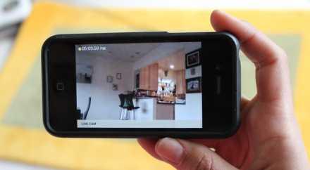 Владельцы смартфонов смогут наблюдать за происходящим дома