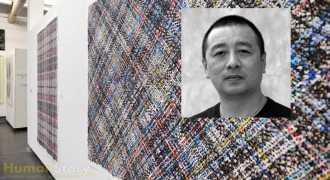 Китайский художник делает цветастые покрывала из фотографий людей