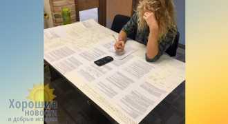 Американцу позволили пронести на экзамен огромную шпаргалку