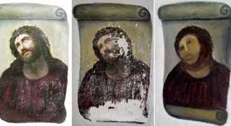 Неудачно отреставрированная фреска вызвала расцвет экономики небольшого городка