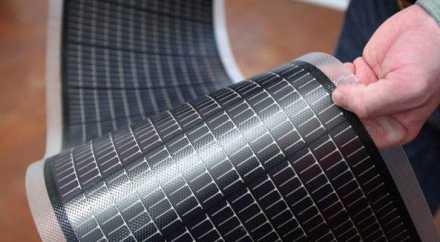 Учёные из Томска изобрели гибкие солнечные батареи