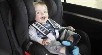 Детское автокресло может навредить здоровью малыша