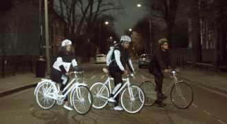 Светоотражающий спрей для велосипедистов появился в продаже