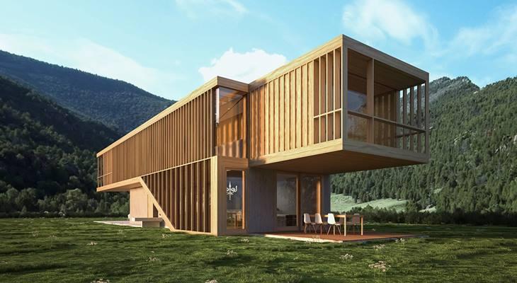 Британский архитектор спроектировал дом-ковчег